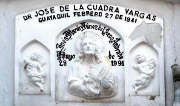 Tombstone of Jose de la Cuadra