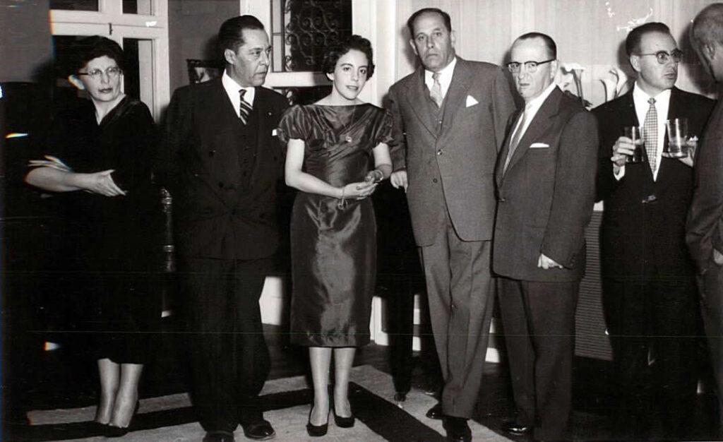 Alfonso Rumazo González with Benjamín Carrión