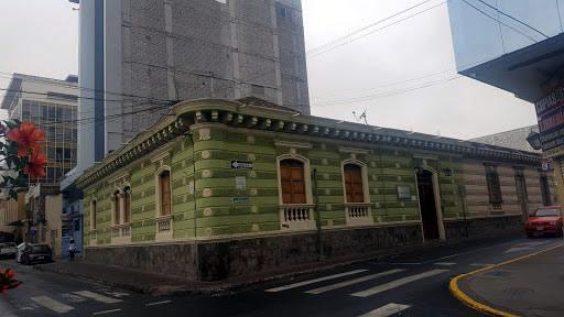 Museum of Juan Benigno Vela in Ambato, Ecuador