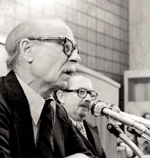 Ernesto Sabato and Galo René Pérez