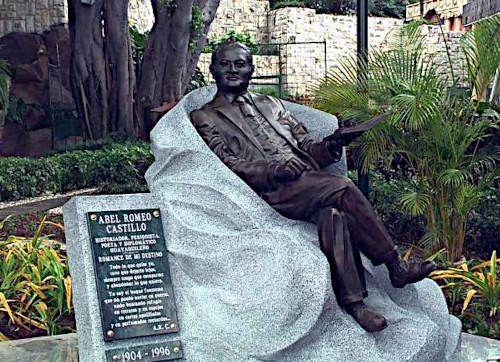 Abel Romeo Castillo statue