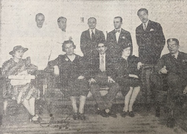 Gabriela Mistral in Guayaquil, Ecuador, 1938