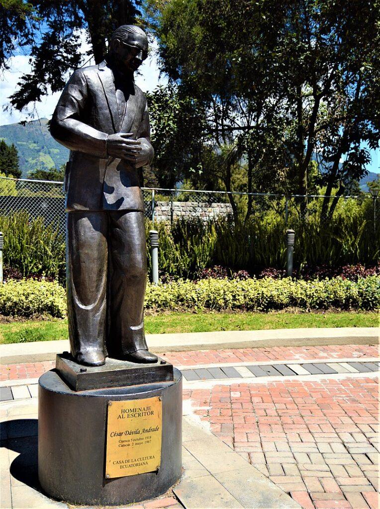 César Dávila Andrade at the House of Ecuadorian Culture